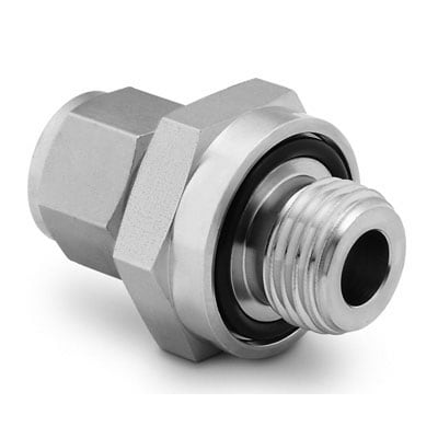Male Connector Swagelok SS-400-1-6 Stainless Steel Tube Fitting 1//4 Tube OD 3//8 Male NPT